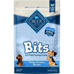 Blue Buffalo Blue Bits Tasty Chicken Recipe Soft-Moist Training Dog Treats, 9-oz bag found on Bargain Bro India from Chewy.com for $7.97