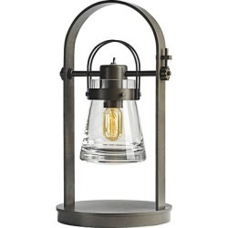 Hubbardton Forge Erlenmeyer Dark Smoke Metal Desk Lamp found on Bargain Bro from LAMPS PLUS for USD $1,178.00