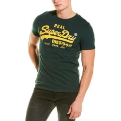 Superdry Vintage Logo 1St T-Shirt (XL), Men's, Green found on Bargain Bro India from Overstock for $21.99