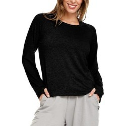 Body Glove Women's Tee Shirts Black - Black Marled Active Long-Sleeve Thumbhole Tee - Women found on MODAPINS from zulily.com for USD $16.99