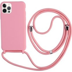 Tech Zebra Cellular Phone Cases Pink - Pink Protective Lanyard Phone Case for iPhone 12 Pro found on Bargain Bro India from zulily.com for $12.99