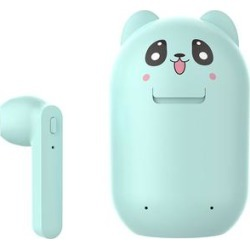 Govtal Wireless Headphones Blue - Blue Cartoon Panda Wireless Earbuds & Charging Case found on Bargain Bro from zulily.com for USD $15.19
