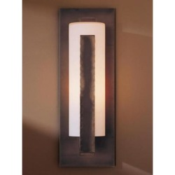 Hubbardton Forge Forged 18 Inch Tall 1 Light Outdoor Wall Light - 307286-1012 found on Bargain Bro from Capitol Lighting for USD $526.68