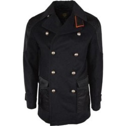 New MCM Men's Black Wool Military Pea Coat Jacket 40 U.S. Medium - M (Black - M) found on MODAPINS from Overstock for USD $695.00