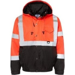Ripstop Bomber Jacket - Fluorescent Red (3XL), Men's(fleece) found on Bargain Bro India from Overstock for $127.43
