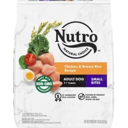 Nutro Natural Choice Chicken & Brown Rice Recipe Small Bites Adult Dry Dog Food, 30 lbs.