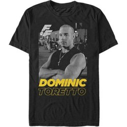 Fifth Sun Men's Tee Shirts BLACK - Fast & Furious Black Dom Tee - Men found on Bargain Bro Philippines from zulily.com for $16.99