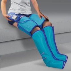 Air Compression Leg Wraps by North American Health+Wellness in Blue found on Bargain Bro Philippines from Brylane Home for $79.99