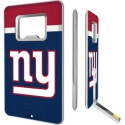 New York Giants Striped Credit Card USB Drive & Bottle Opener found on Bargain Bro from Fanatics for USD $18.99