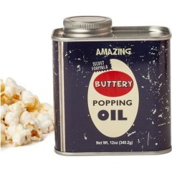 Wabash Valley Farms Popcorn - Retro Metal Tin Buttery Popping Oil found on Bargain Bro Philippines from zulily.com for $7.39