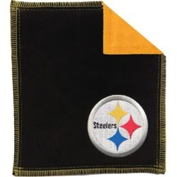 Pittsburgh Steelers Bowling Shammy Towel - Black found on Bargain Bro India from Fanatics for $32.95