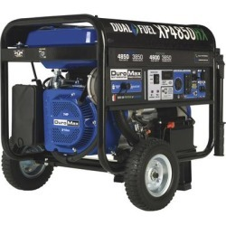 DuroMax Dual Fuel Generator with CO Alert - 4850 Surge Watts, 3850 Rated Watts, Electric Start, Model XP4850HX found on Bargain Bro from northerntool.com for USD $493.23