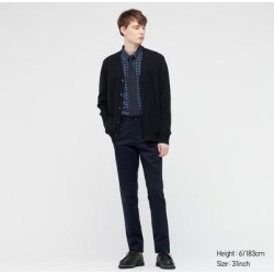 UNIQLO Men's Slim-Fit Chino Pants, Navy, 34 in. found on Bargain Bro from Uniqlo for USD $30.32