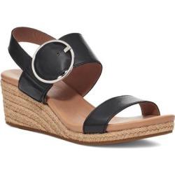 UGG Navee Espadrille Wedge Sandal - Black - Ugg Heels found on Bargain Bro from lyst.com for USD $83.60