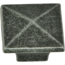 Stone Mill Hardware - Swedish Iron Cairo Cabinet Knobs (Pack of 25) found on Bargain Bro from Overstock for USD $28.40