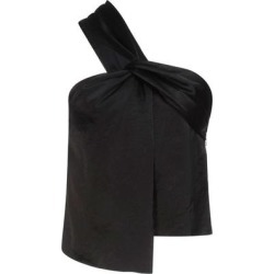 Top - Black - Nanushka Tops found on MODAPINS from lyst.com for USD $214.00