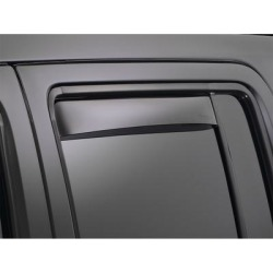 WeatherTech Side Window Vent, Fits 2009-2014 Volkswagen Jetta, Material Type Molded Plastic, Tint Color Medium, Model 83398 found on Bargain Bro Philippines from northerntool.com for $55.00