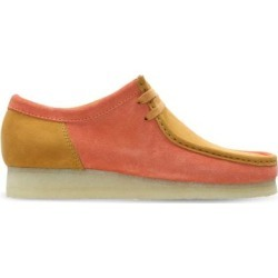 Clarks Wallabee Moc Toe Derby - Orange - Clarks Lace-Ups found on Bargain Bro India from lyst.com for $190.00