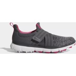 New Adidas Women's Climacool Knit Golf Shoes Grey/Grey Four/Shock Pink (6.5), Gray found on Bargain Bro Philippines from Overstock for $64.99