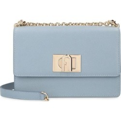 1927 Leather Mini Crossbody Bag - Blue - Furla Shoulder Bags found on MODAPINS from lyst.com for USD $348.00
