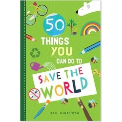 Skyhorse Publishing Educational Workbooks - 50 Things You Can Do to Save the World Activity Book