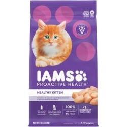 Iams ProActive Health Kitten Dry Cat Food, 7-lb bag