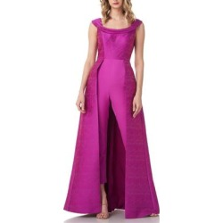 Anais Maxi Romper - Purple - Kay Unger Jumpsuits found on MODAPINS from lyst.com for USD $138.00