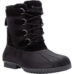 Extra Wide Width Women's Ingrid Cold Weather Boot by Propet in Black (Size 6 WW) found on Bargain Bro from Woman Within for USD $68.39