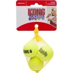 KONG Squeakair Balls Packs Dog Toy, X-Small found on Bargain Bro India from Chewy.com for $1.99