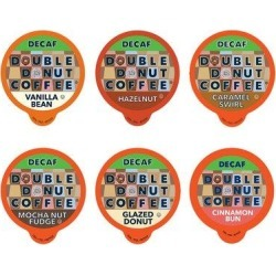 Double Donut Coffee Pods Variety Pack in Brown, Size 5.0 H x 6.0 W x 8.0 D in | Wayfair WM-DD-D-OldVP-24 found on Bargain Bro Philippines from Wayfair for $15.09