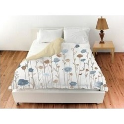 Oliver Gal 'Beautiful Growth Light Blue'Duvet Cover (Twin), The Oliver Gal Artist Co. found on Bargain Bro from Overstock for USD $88.15