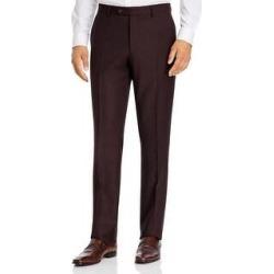 John Varvatos Star USA Mens Dress Pants Wool Striped - Burgundy - 32 (Burgundy - 32), Men's, Red found on Bargain Bro from Overstock for USD $71.75