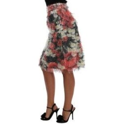 Dolce & Gabbana Floral Patterned Pencil Straight Women's Skirt (it44-l), Multicolor(polyester) found on Bargain Bro India from Overstock for $424.65