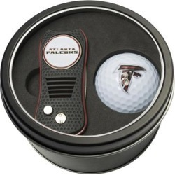 Atlanta Falcons Divot Tool & Golf Ball Personalized Tin Gift Set found on Bargain Bro from nflshop.com for USD $22.79