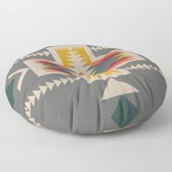 Canoe Ready Floor Pillow by Urban Wild Studio Supply - ROUND - 30