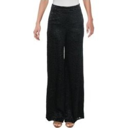 Alexis Womens Galini Wide Leg Pants Silk Blend Animal Print - White Geometric - S (Black Geometric - XS), Women's found on MODAPINS from Overstock for USD $78.24