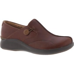 Clarks Un Loop 2 Walk - Womens 7.5 Tan Slip On W found on Bargain Bro from ShoeMall.com for USD $98.76