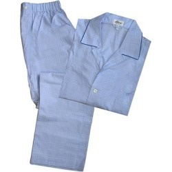 Brioni Mens Solid Light Blue Pajamas (Blue - XL), Men's(cotton) found on MODAPINS from Overstock for USD $295.00