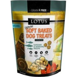 Lotus Soft-Baked Sardine and Herring Grain-Free Dog Treat, 10-oz bag found on Bargain Bro from Chewy.com for USD $5.31