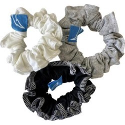 Los Angeles Chargers Refried Apparel Upcycled 3-Pack Scrunchie Set found on Bargain Bro Philippines from nflshop.com for $24.00