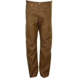 Levi's Men's 501 Original Shrink to Fit Button Fly Jeans (Tobacco 1929 - 33X32), Brown(canvas) found on MODAPINS from Overstock for USD $49.97