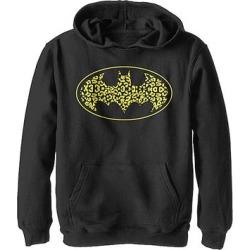 Fifth Sun Boys' Sweatshirts and Hoodies BLACK - Batman Black Cheetah Bat Logo Kangaroo-Pocket Hoodie - Boys found on Bargain Bro from zulily.com for USD $17.47