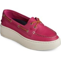 Sperry Top-Sider Women's Boat Shoes BATON - Baton Rouge A/O Leather Platform Boat Shoe - Women found on Bargain Bro from zulily.com for USD $41.79