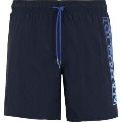 Swim Trunks - Blue - Napapijri Underwear found on MODAPINS from lyst.com for USD $68.00