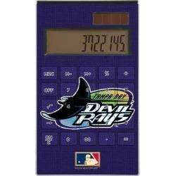 Tampa Bay Rays 1998-2000 Cooperstown Solid Design Desktop Calculator found on Bargain Bro India from Fanatics for $29.99