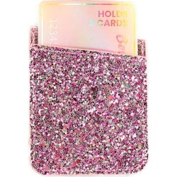 Bewaltz Cellular Phone Cases Pink - Pink Glitter Phone Pocket found on Bargain Bro Philippines from zulily.com for $6.99