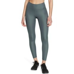 One Faux Leather Mid Rise 7/8 Leggings - Green - Nike Pants found on Bargain Bro from lyst.com for USD $53.20