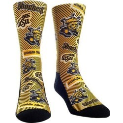 Rock Em Apparel Socks - Wichita State Shockers Yellow Logo Socks - Kids & Adult found on Bargain Bro Philippines from zulily.com for $11.99