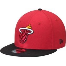 Miami Heat New Era 2-Tone 9FIFTY Adjustable Snapback Hat - Red/Black found on Bargain Bro from Fanatics for USD $22.79