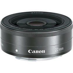 Canon EF-M 22mm f/2 STM -for EOS